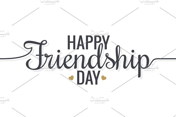 Friendship Day Lettering