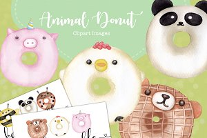 Donut Clipart Images
