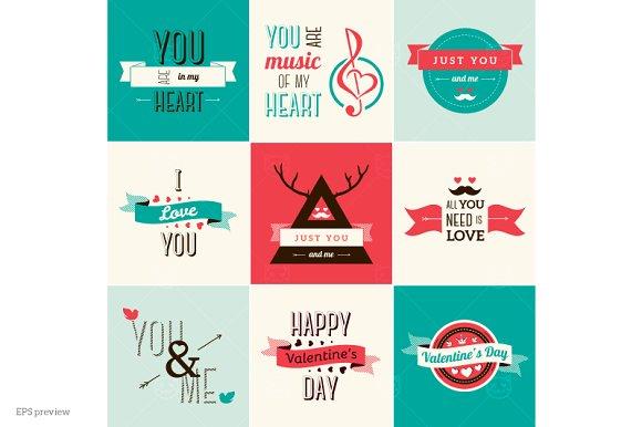 Valentines Day Elements