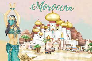 Moroccan/Arabian Clipart Images