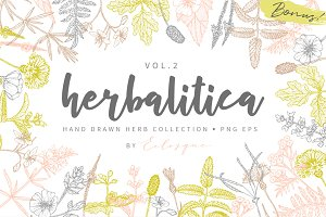 Herbalitica Vol.2 Flower Set