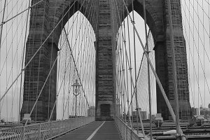 Brooklyn Bridge circa 2001