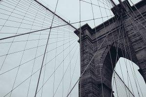 Brooklyn Bridge circa 2001