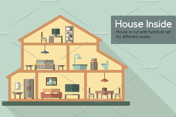 House Inside Elements