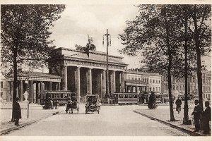 Berlin, Brandenburg Gate, about 1910