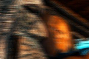 Weird portrait abstraction