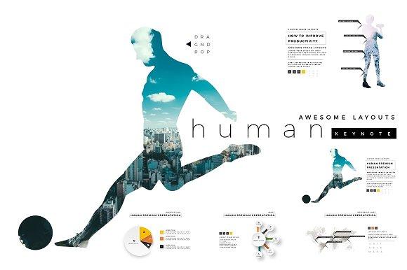 HUMAN Premium Keynote Template