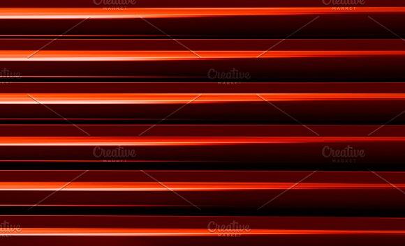 Horizontal Vivid Vibrant Red Business Presentation Abstract Blin