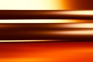 Horizontal orange motion blur background