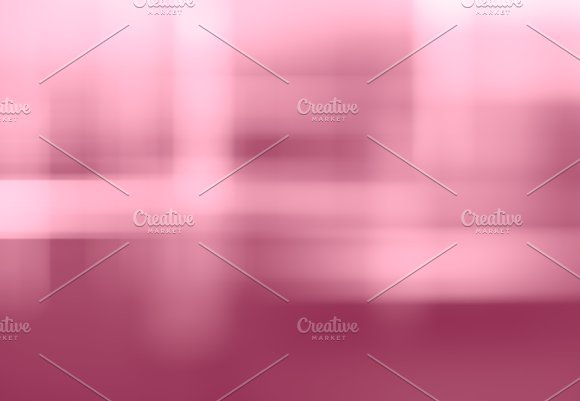 Horizontal Pink Cross Pale Bokeh Background