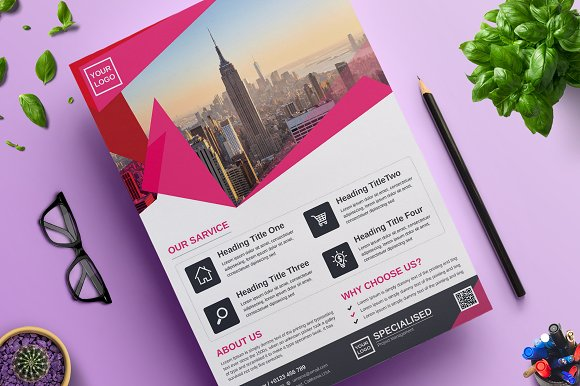 Corporate Business Flyer Vol 07