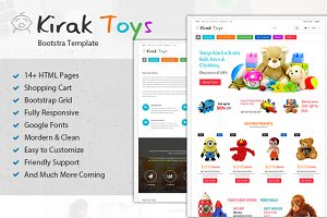 Toys Bootstrap Ecommerce Html Theme