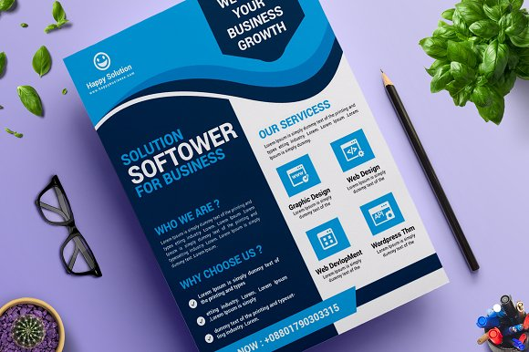 Corporate Business Flyer Vol 11