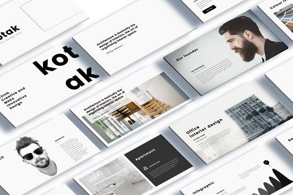 Kotak Interior Design Keynote
