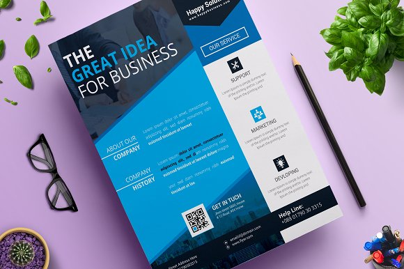 Corporate Business Flyer Vol 16