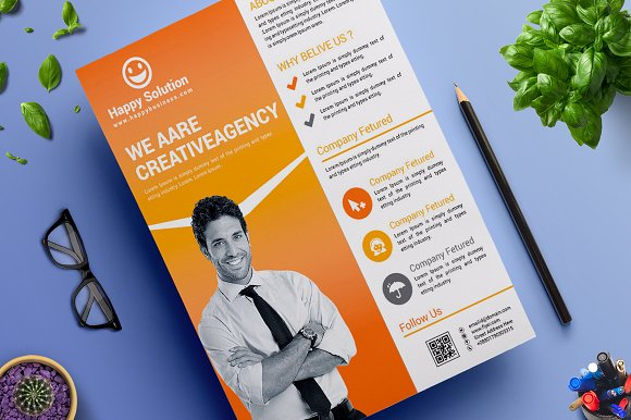 Corporate Business Flyer Vol 17