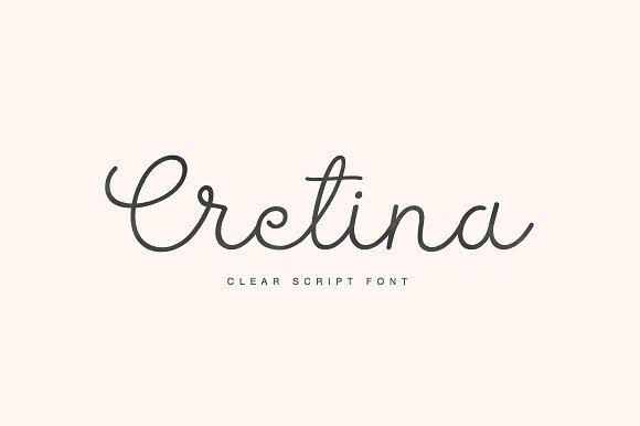 Cretina Script