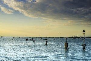 Sea route to Venice