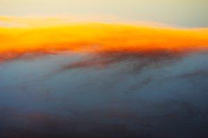 Horizontal dramatic clouds background
