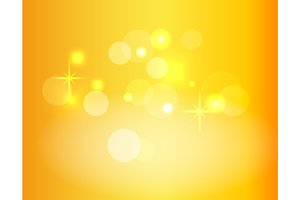 Gradient Vector Background with Sparkles and Bokeh