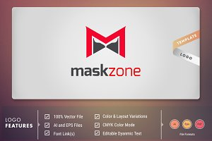 MaskZone - Logo Template