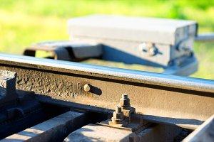 Railway maintenance toolkit bokeh background