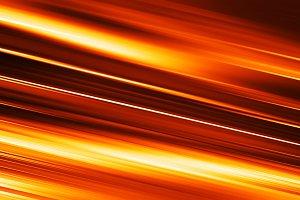 Diagonal orange motion blur background