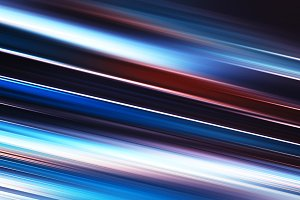 Diagonal red blue motion blur background