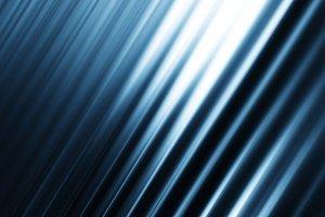Diagonal blue motion blur background