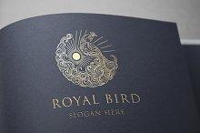 Royal Bird Logo Template