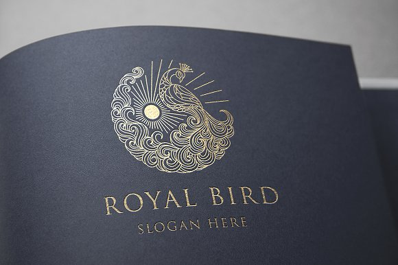 Royal Bird Logo Template
