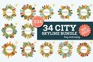 34 City Skyline