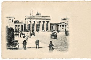 Berlin, Brandenburg Gate, 1900