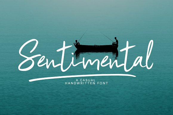 Sentimental Handwritten Font