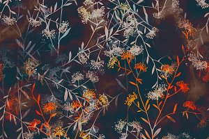 dry grass seamless pattern | JPEG