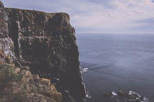 Coastal Landscape of Iceland