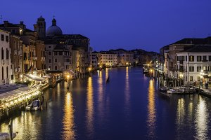 Venice in the night