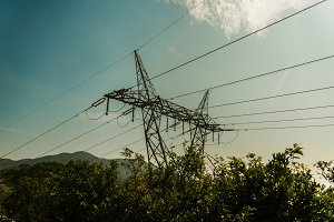 Electrical Pylon closeup