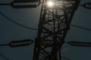 Dark Electrical Pylon