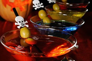 cocktail   on Halloween