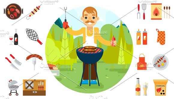 Barbecue man