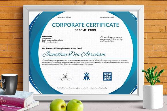 Certificate Template Vol 03