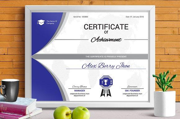 Certificate Template Vol 04