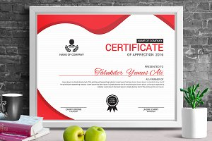 Certificate Template | Vol. 05