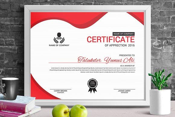 Certificate Template Vol 05