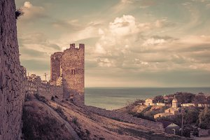 Ancient Genoese fortress