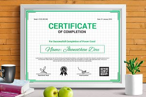 Certificate Template | Vol. 09