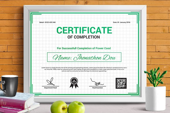 Certificate template vol 09 stationery templates creative certificate template vol 09 stationery yadclub Choice Image