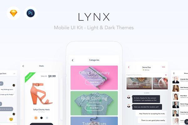 LYNX - Mobile UI Kit