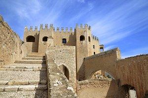 Access to the castle of Velez Blanco